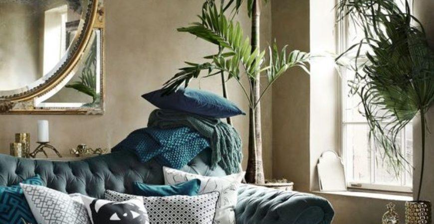 Ottone, marmo e velluto, alcuni trend che ispireranno la casa del 2018