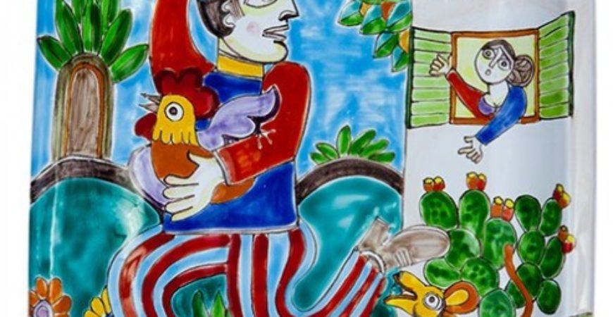 Ceramiche de simone spirito folkloristico e tradizione siciliana