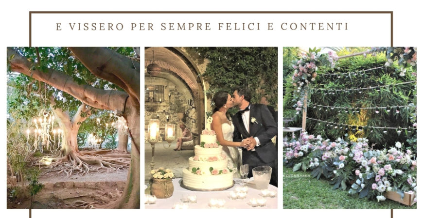 Un matrimonio in una location da sogno