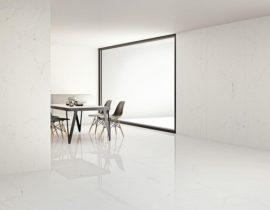Grande Marble Look di Marazzi, la ceramica che reinterpreta il marmo in maniera sublime