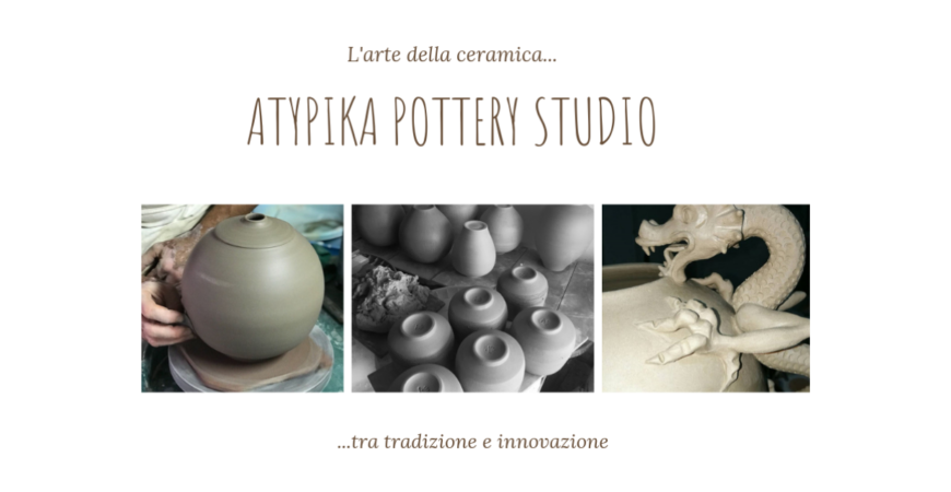 Atypika Pottery Studio: l'arte di fare ceramica tra tradizione e innovazione