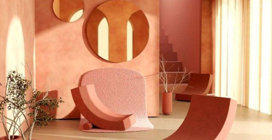 Il colore dell'ottimismo: Living coral tra le mura domestiche