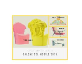 Il design incontra la moda al Salone del mobile 2019