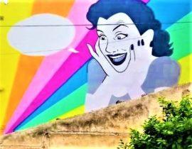 La street art colora la città e nuove speranze si aprono all'orizzonte