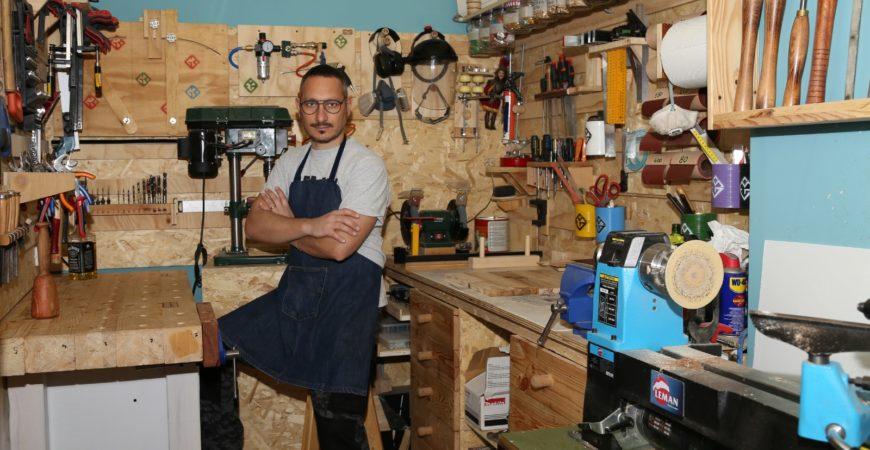 Giuseppe Migliore e la sua passione per la lavorazione del legno