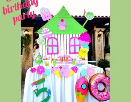 Sweet birthday party