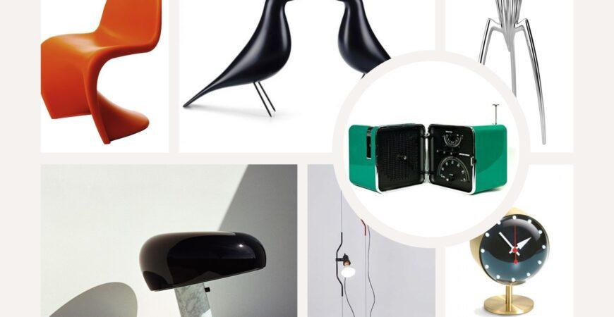 Mi regalo un pezzo di design:10 icone senza tempo